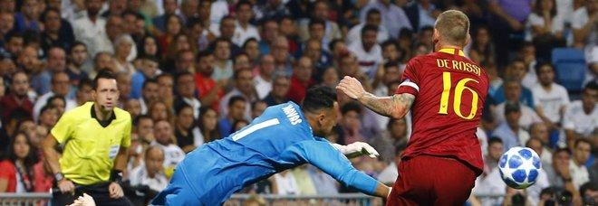 Champions, De Rossi: «Siamo più forti di così»