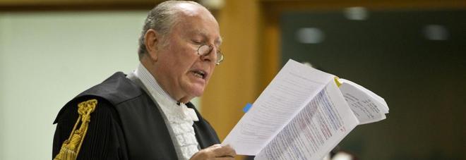 Il magistrato Alberto Cozzella