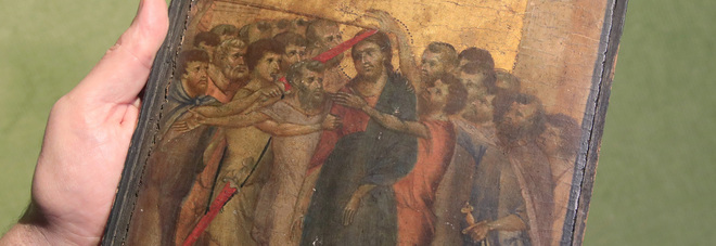 Il «Cristo deriso» di Cimabue venduto a 24 milioni di euro: una signora lo aveva in cucina senza saperlo