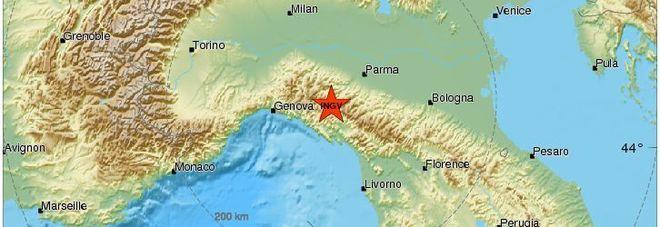 Terremoto in provincia di Parma: magnitudo 3.9, la scossa avvertita chiaramente dalla popolazione