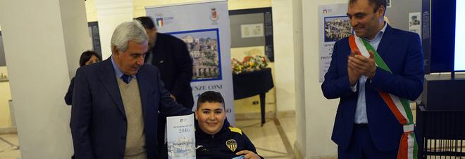 Il Coni omaggia Fernando Casali Raccolti 17 mila euro per l'ascensore