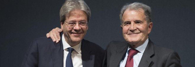 Elezioni, Prodi scende in campo: «Con Gentiloni il Paese è più forte». Gentiloni si impegna: «Stabilità, dopo il voto farò il mio dovere»