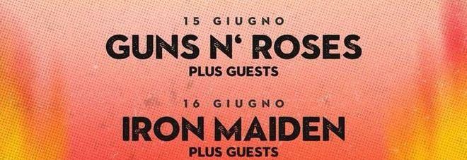 Firenze Rocks 2018, che nomi: Foo Fighters, Iron Maiden, Guns N' Roses e Ozzy Osbourne