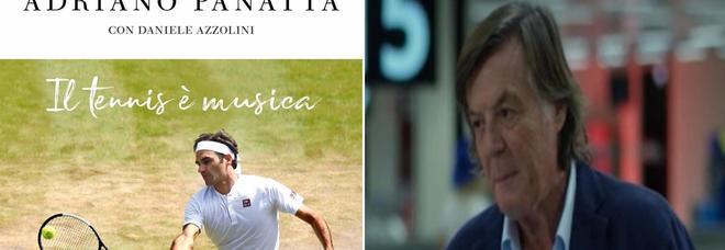Il tennis è musica, il romanzo di Adriano Panatta per chi adora il bel gioco