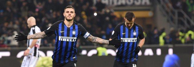 Inter-Udinese 1-0: Icardi, cucchiaio-gol e Spalletti si rialza