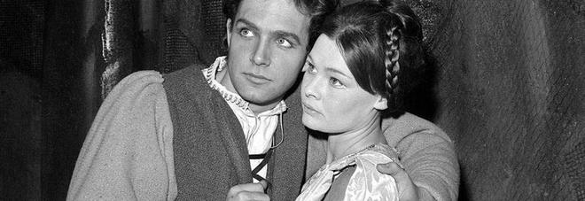 John Stride e Judi Dench in Romeo e Giuletta, regia di Franco Zeffirelli
