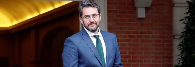 Il neo ministro di cultura e sport Maxim Huerta