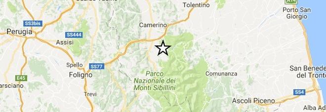 Terremoto, scossa di magnitudo 3.3 avvertita in provincia di Macerata