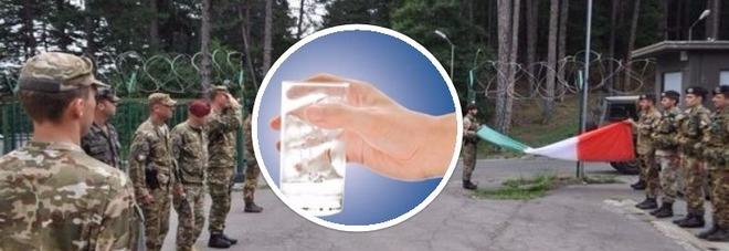 """""""I nostri militari in Kosovo hanno bevuto acqua cancerogena"""": la denuncia choc"""