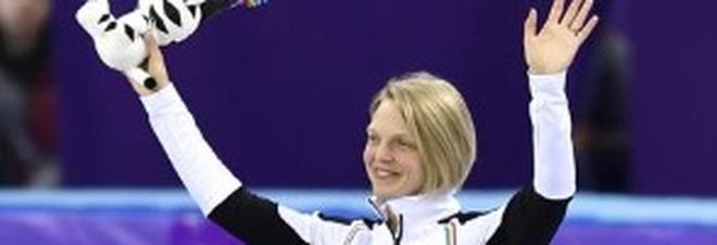 Arianna Fontana medaglia di bronzo nello short track 1000 metri femminile