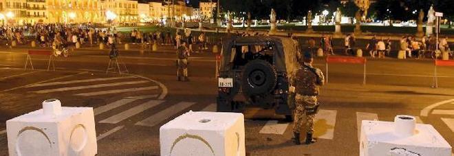 Fuochi di Ferragosto in Prato: 150 agenti e blocchi di cemento