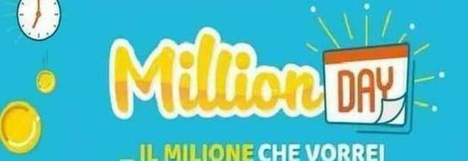 Million Day, i numeri vincenti di venerdì 25 settembre 2020. Nuova vincita milionaria
