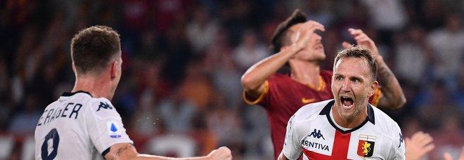 Roma-Genoa 3-3: pari deludente all'esordio. Fischi all'Olimpico