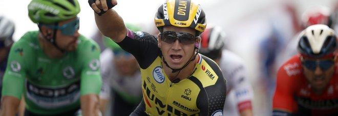 Dylan Groenewegen vince la 7/a tappa Ciccone resta in maglia gialla