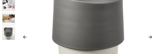 Ikea ritira dal mercato il bicchiere da viaggio Troligtvis: «Non usatelo, può rilasciare sostanze chimiche»