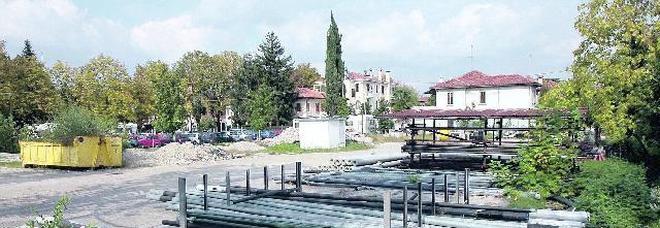 Via Lancieri: 27 alberi risparmiati
