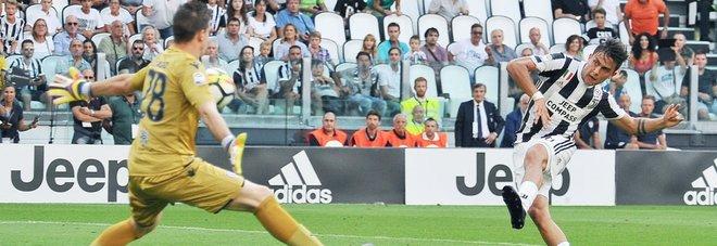 Juve-Cagliari 3-0: Mandzukic, Dybala e Higuain regalano ad Allegri il successo