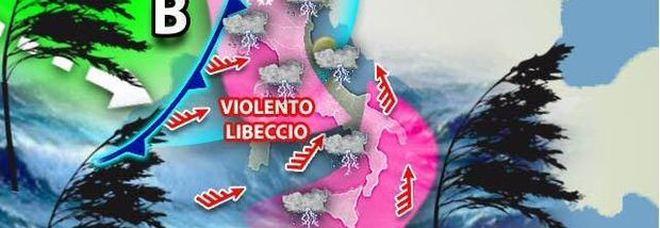 Meteo, temporali e venti forti su tutta Italia per 10 giorni: allerta maltempo su Roma e Firenze