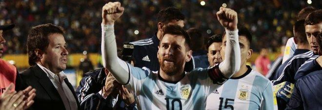 Messi: «Una follia l'Argentina fuori dal Mondiale»