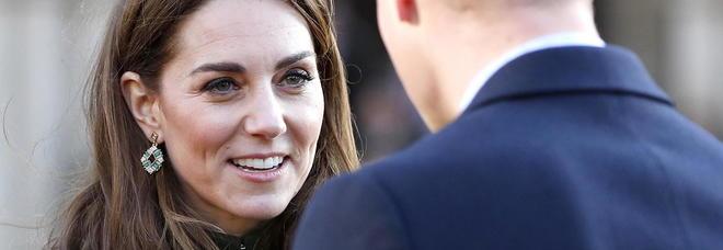 Kate Middleton e William, prima uscita pubblica dopo l'annuncio di Meghan Markle e Harry