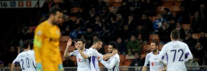 Inter-Fiorentina 0-1: nerazzurri battuti da un gol di Salah