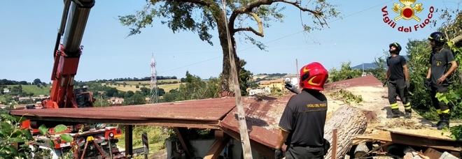 Maltempo, interventi no stop dei vigili del fuoco E non è ancora finita