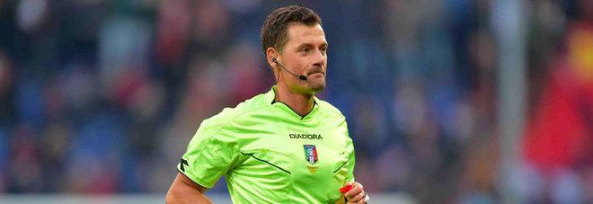 Serie A, arbitri: Genoa-Roma a Giacomelli, Lazio-Fiorentina a Massa