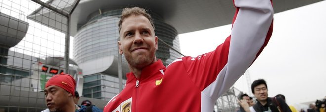Gp Cina, Vettel sogna la tripletta:  «Fiducioso, proveremo a vincere»