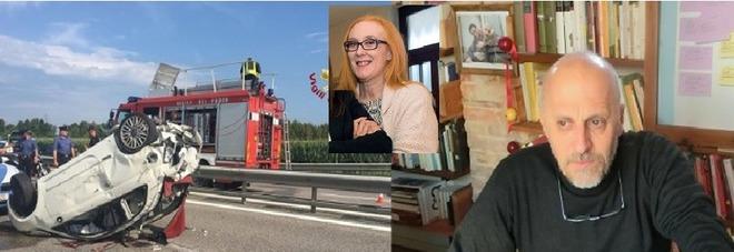 E' morta la 53enne vicentina  investita in A4 dalla Volvo di Marco Paolini