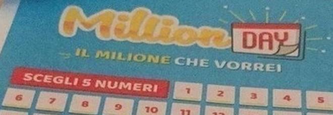 Million Day, i numeri vincenti di domenica 16 febbraio 2020
