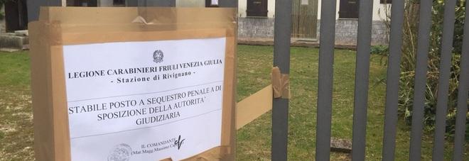 La casa dei Del Zotto a Santa Marizza posta sotto sequestro a Varmo in Friuli