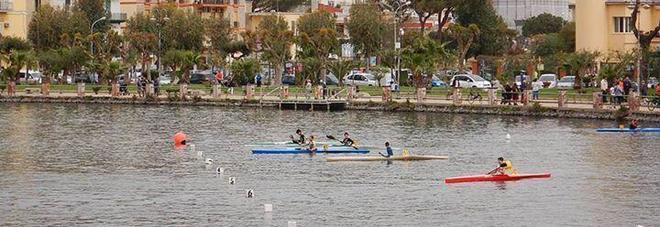 Tre ori per la canottieri Agropoli nelle regionali di canoa sul Lago Miseno
