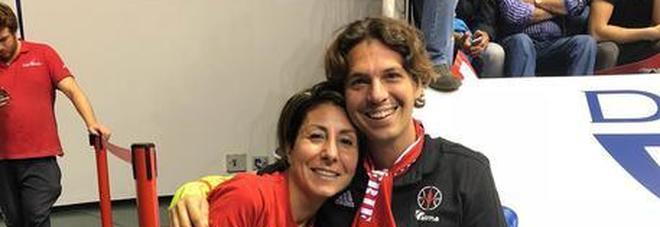 Crollo ponte Morandi: Federico e  Rita all'esordio di Alma basket