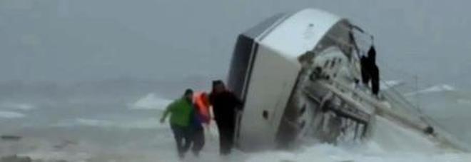 Maltempo, turista francese muore in naufragio in Sardegna