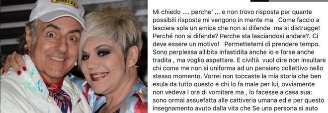 Manuela Villa parla di Pamela Prati, lo sfogo su Instagram «Come faccio a lasciare sola un'amica che si distrugge?»