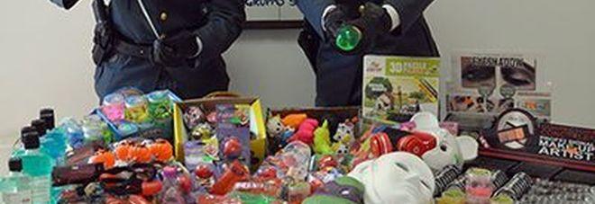 Halloween sicuro, maxi sequestro  di giocattoli: multe per 25.000 euro