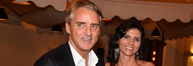 Roberto Mancini e Silvia Fortini