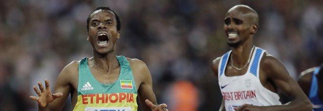 Mondiali, Farah battuto in finale dei 5.000 metri: è argento
