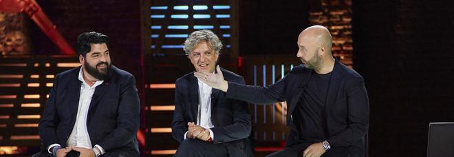 Masterchef, Bastianich accusa Cannavacciuolo: «Cracco ti ha detto così e tu ascolti»