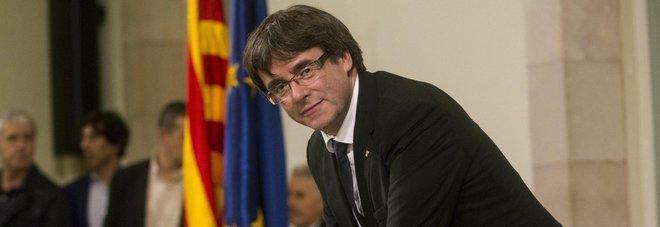 Puigdemont: «Sì al dialogo, ma senza condizioni»