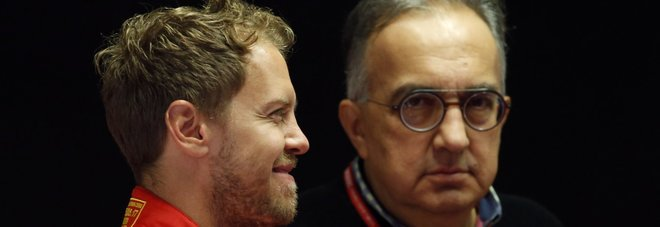 Gp d'Italia, Marchionne vede rosso:  «Due Ferrari sul podio? Facciamo un casino»