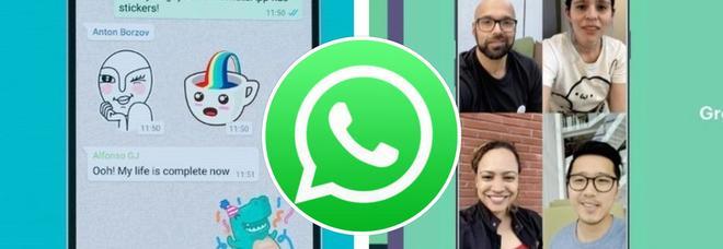 WhatsApp, ecco l'ultimo aggiornamento: dai video agli stickers, tutte le novità in arrivo