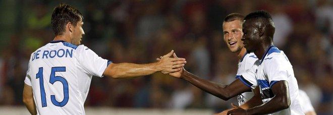Atalanta a un passo dal play-off: vince (4-1) l'andata del terzo preliminare in casa dell'Hapoel Haifa