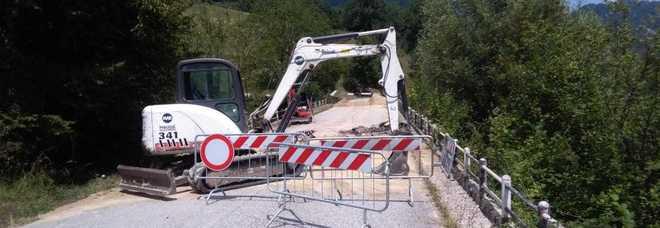 Montegallo, riapre la strada Dopo il rischio isolamento però i guai non sono finiti