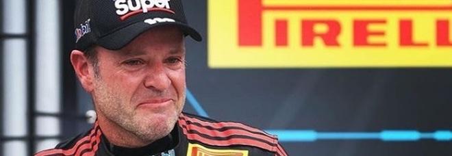 Barrichello, la cicatrice choc: «Avevo mal di testa, era un tumore»