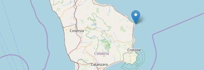 Terremoto in Calabria: scossa di 3.1 a Crotone, poi altra di 2.3 a Catanzaro