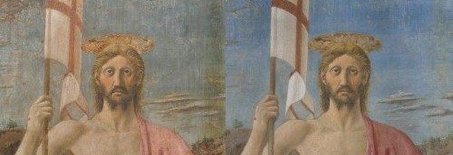 Sansepolcro, la sorpresa della Resurrezione di Piero della Francesca: colori vivi e spettacolari