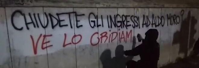 I graffiti realizzati intorno alla Sapienza