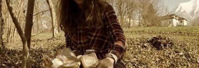 Alice Pedon ha abbandonato il campo della moda per dedicarsi alle erbe officinali