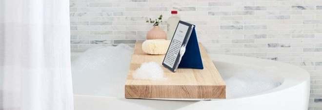 e9b6e09cb572bd Amazon, Kindle lancia i nuovi «Oasis»: dallo schermo più grande e waterproof